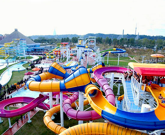 Popular Water Rides In Indonesia